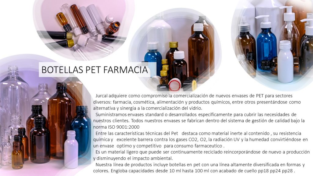 Botellas Pet Farmacia