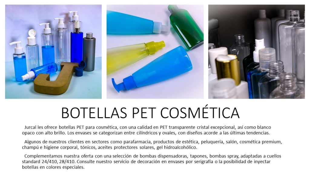 Botellas Pet Cosmetica General