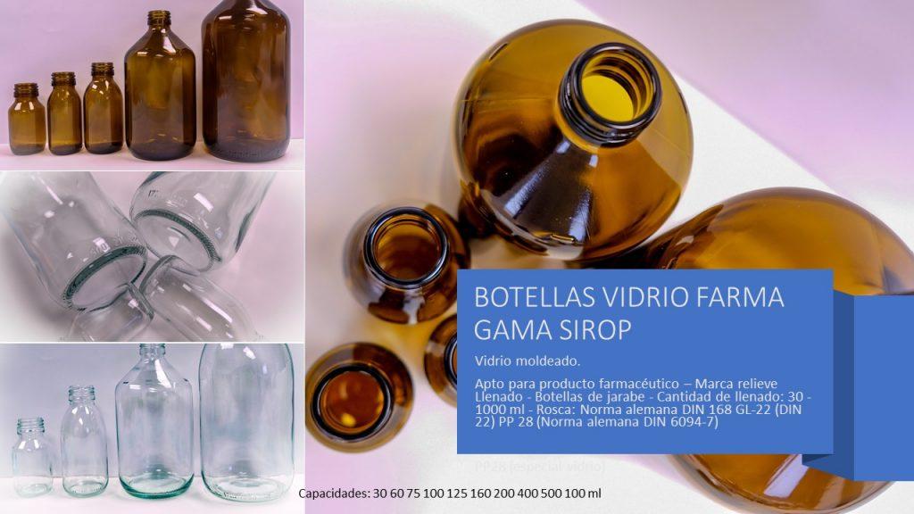 Gama Sirop Vidrio